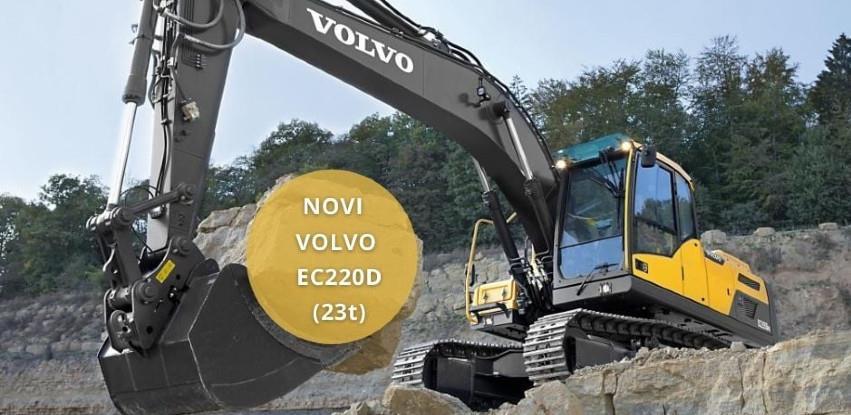 Akcijska cijena Volvo EC220D bagera