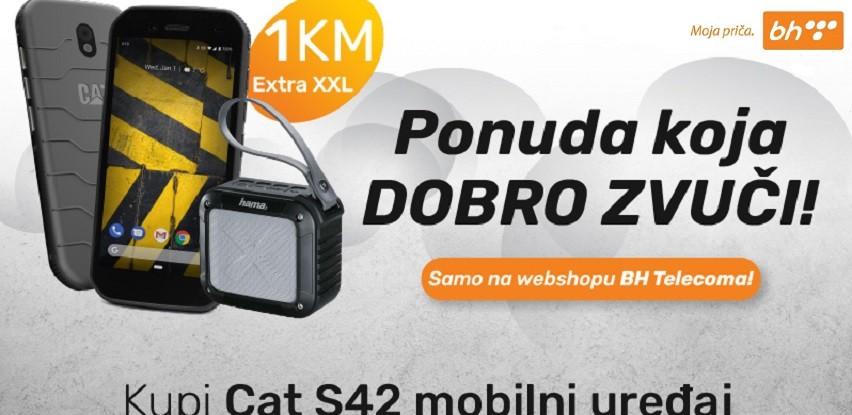 Prvih 50 kupaca Cat S42 mobilnog uređaja dobija Bluetooth zvučnik