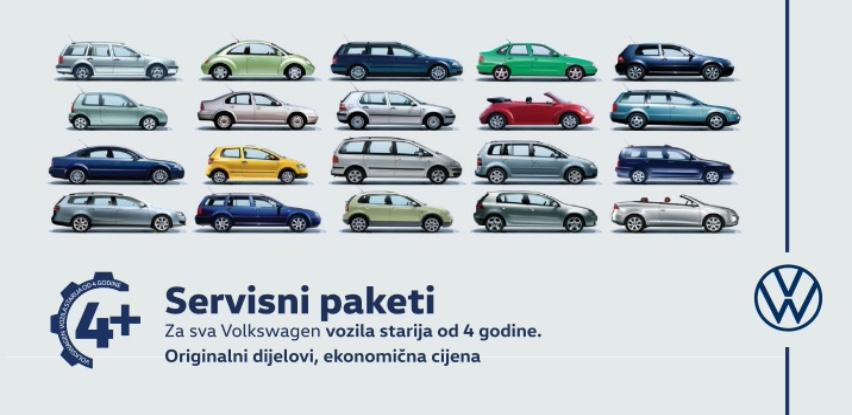 Servisna akcija za sva Volkswagen vozila starija od 4 godine
