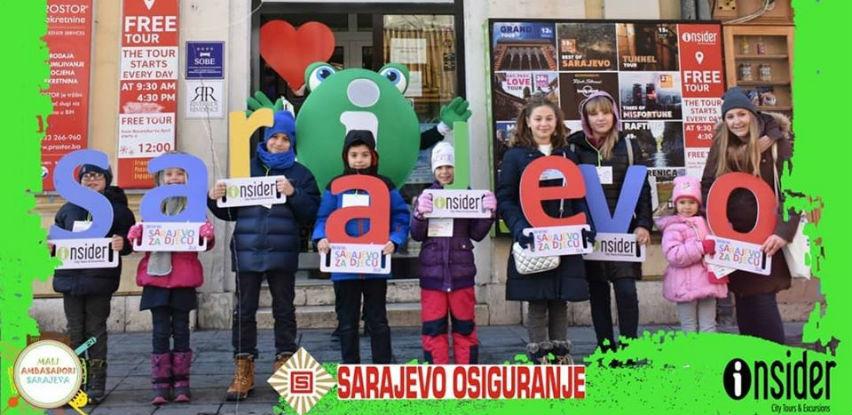 """SARAJEVO-OSIGURANJE sponzor projekta """"Mali ambasadori Sarajeva 2020"""""""