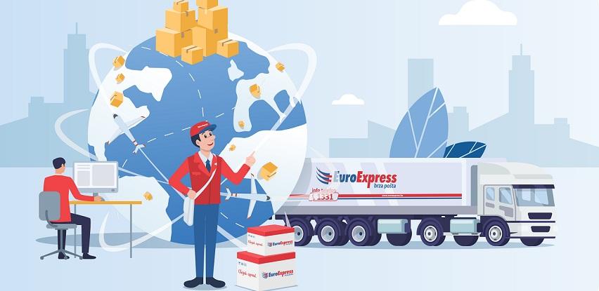 EuroExpress pruža mogućnost korištenja usluga međunarodnog transporta