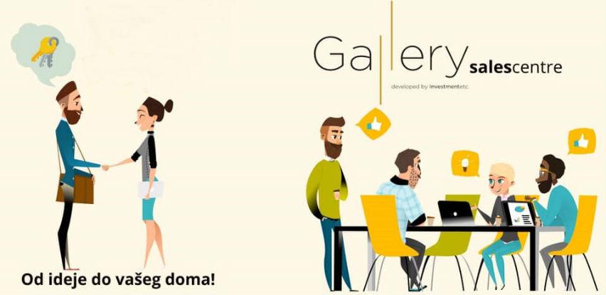 Gallery prodajni centar je potpuno novi koncept prodaje nekretnina