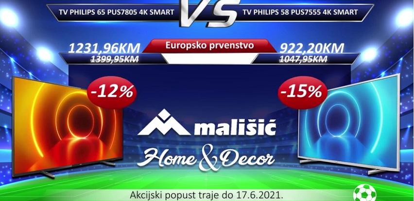 Mališić Webshop: Najbolja ponuda televizora za gledanje europskog prvenstva