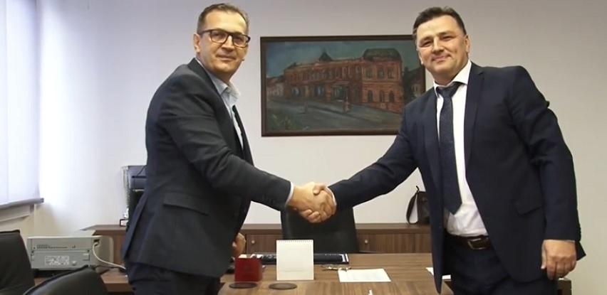Potpisivanje ugovora Sarajevo osiguranje i RTV TK (Video)
