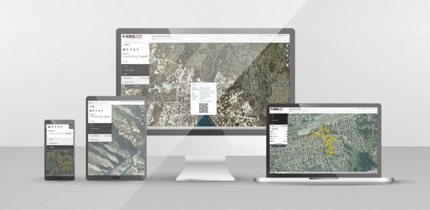Suvremena interaktivna platforma KING GEO DATA Managemet