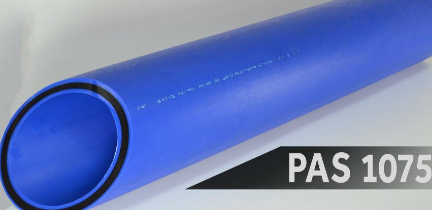 Peštan PEHD RC su visokokvalitetne cijevi za transport vode pod pritiskom
