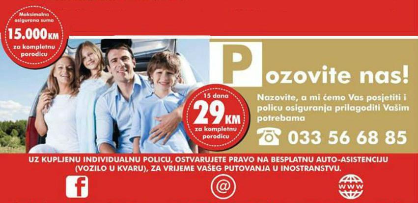 Putujte bezbrižno uz policu putničkog osiguranja SARAJEVO-OSIGURANJA