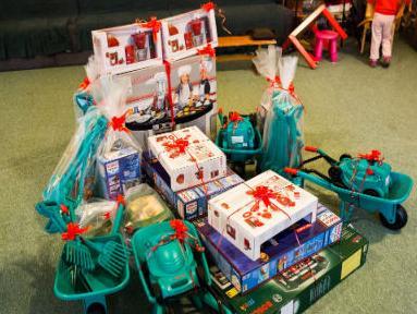 Bosch razveselio najmlađe donacijom igračaka