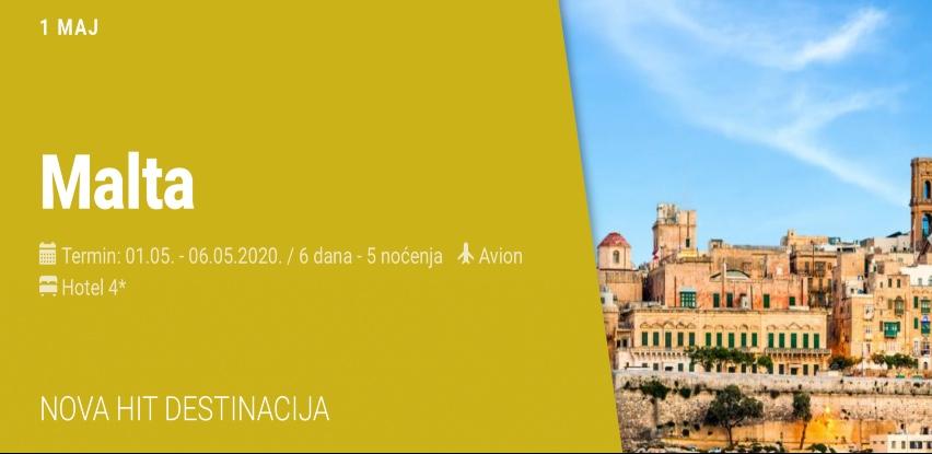 Putovanje na Maltu za 1. maj sa Relax Tours-om