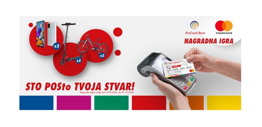 ProCredit Bank i Mastercard: Sto POSto tvoja stvar!