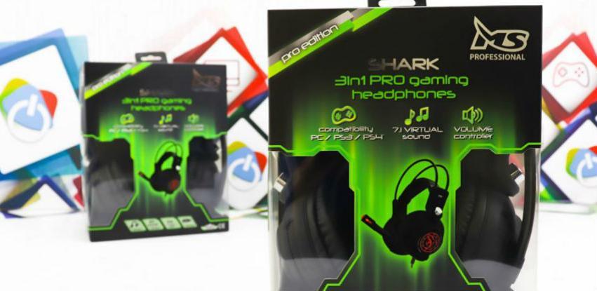 Doper-Tech: Ponovno na stanju MS SHARK slušalice sa vibracijom