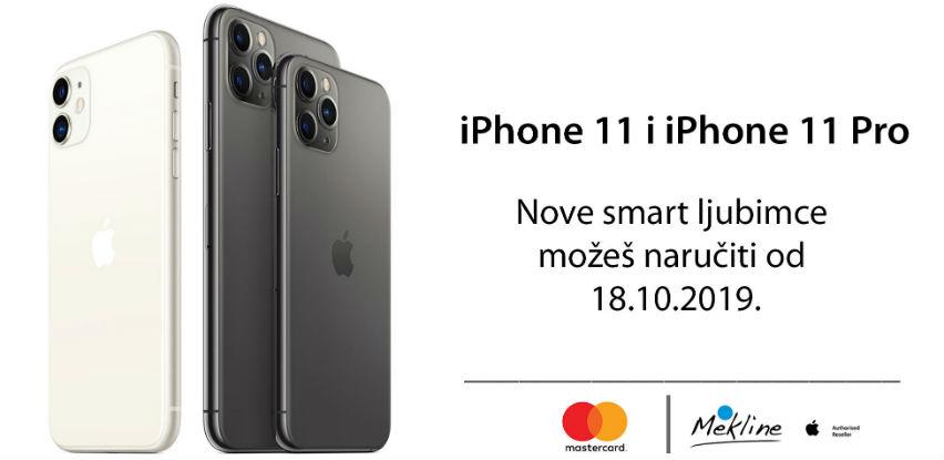 Rezervišite svoj iPhone 11 ili iPhone 11 Pro već danas u Mekline-u