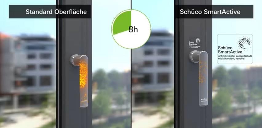 Saznajte razliku između standardne ručke i nove Schüco SmartActive (Video)