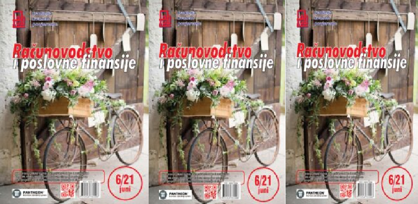 "Časopis ""Računovodstvo i poslovne finansije""  broj 06/21"