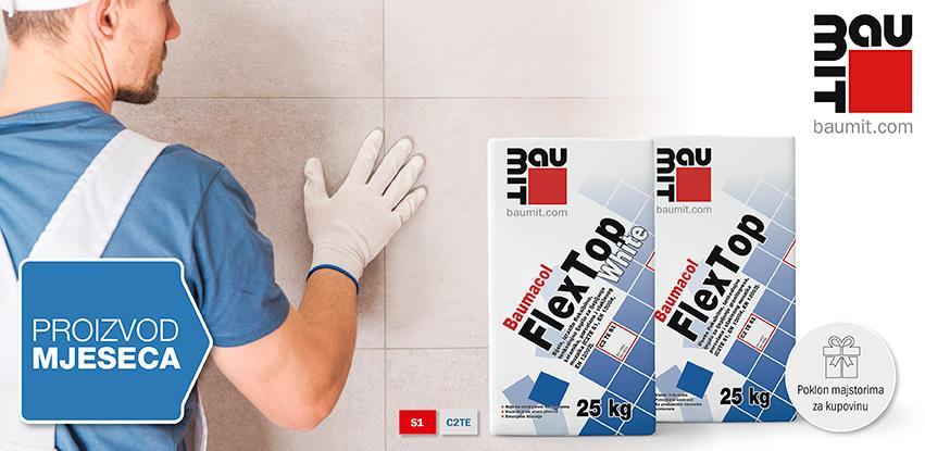 Baumacol FlexTop - Visoko fleksibilno tankoslojno ljepilo
