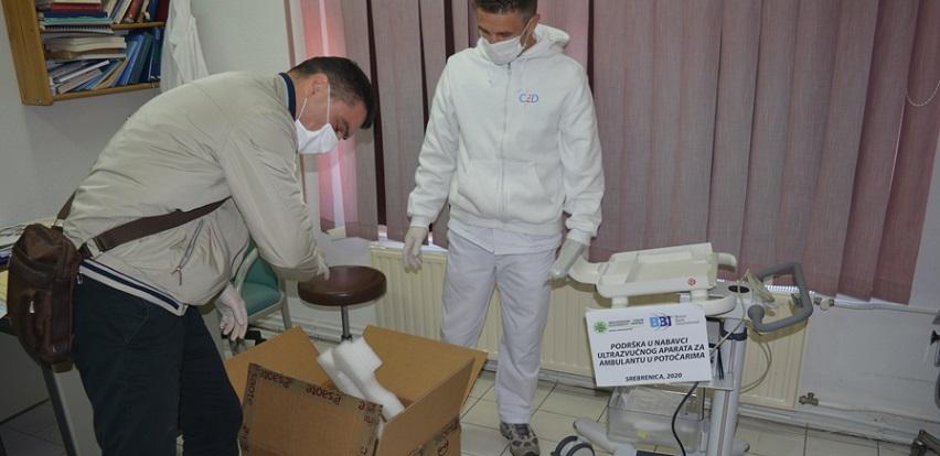 BBI banka donirala sredstva za kupovinu ultrazvuka ambulanti u Potočarima