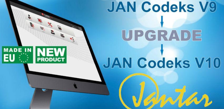 Politika nadogradnje za postojeće sisteme koji koriste Codeks V9 program