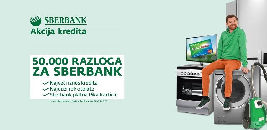 Sberbank BH: Nastavak akcije gotovinskih kredita