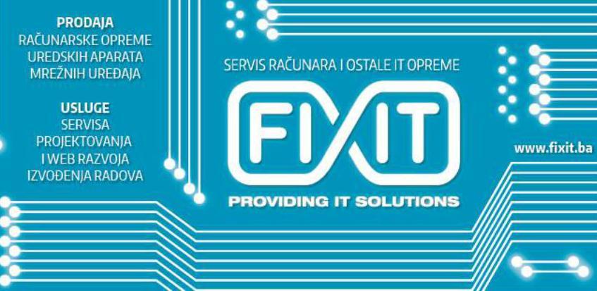 Fixit: Vrhunska hardverska i softverska ponuda svjetskih proizvođača