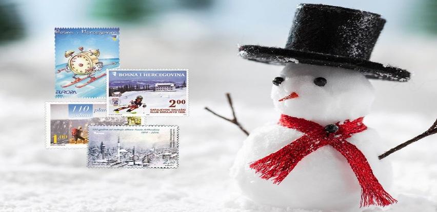 Poštanske marke sa zimskim motivima