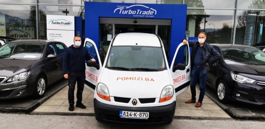 Turbo Trade poklonio automobil udruženju Pomozi.ba (Foto)