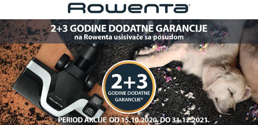 Produžena garancija 2+3 godine na usisivače sa posudom iz Rowente