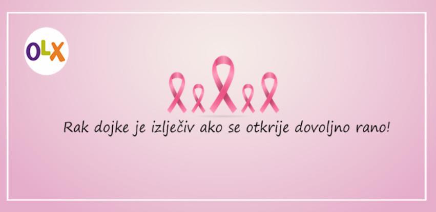 OLX.ba u kampanji za prevenciju karcinoma dojke