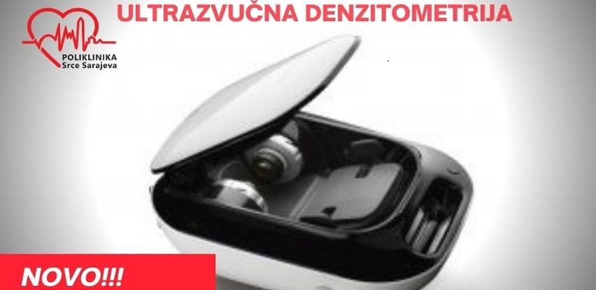 NOVO U POLIKLINICI Srce Sarajeva! Ultrazvučna denzitometrija!