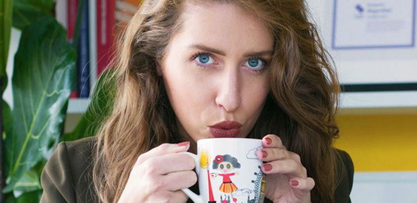 Uživajte u Franck Cappuccinu iz dizajnerske šalice Jolie Petite by Ljupka Gojić