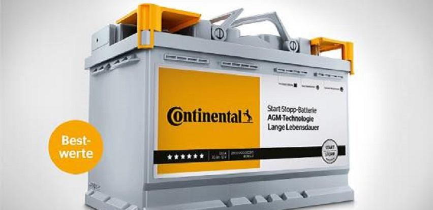 Više snage s novim programom Continental akumulatora