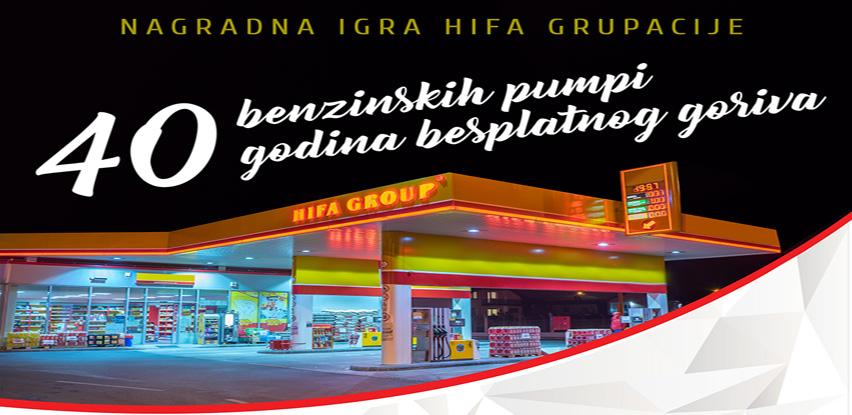 Osvojite 1 godinu besplatnog točenja goriva na Hifa benzinskim pumpama