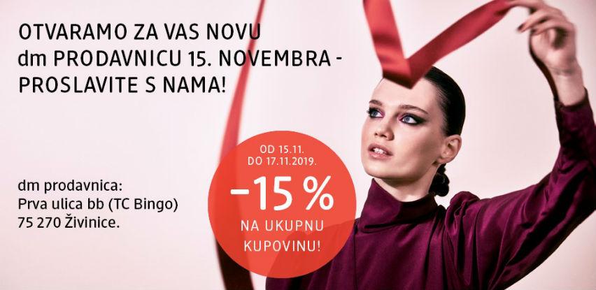 dm drogerie markt otvara novu prodavnicu u Živinicama