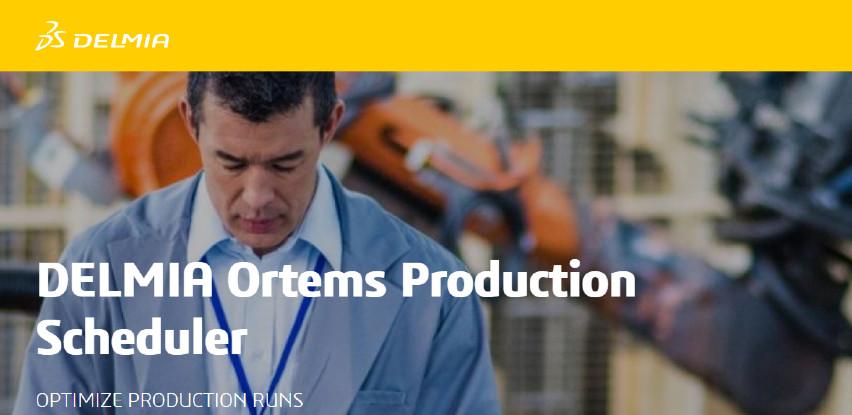 Napredno planiranje i optimizacija proizvodnje (APS) kroz Delmiu Ortems