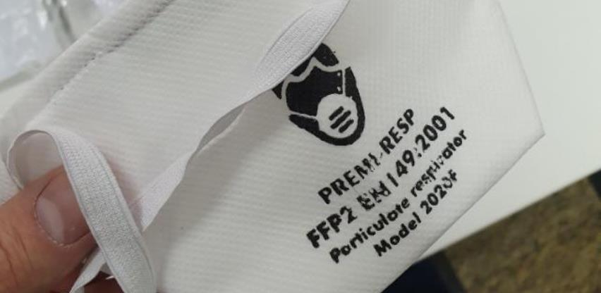 Kuna iz Visokog proizvodi zaštitne maske