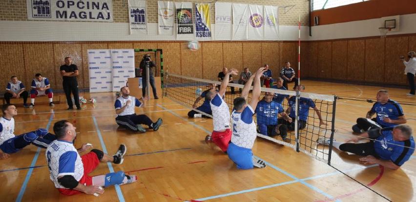 Misija OSCE-a u BiH podržala turnir u sjedećoj odbojci u Maglaju