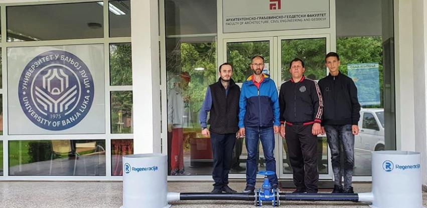 Regeneracija donirala opremu Arhitektonsko-građevinsko-geodetskom fakultetu