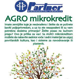 Ako se želite baviti poljoprivredom, tu je AGRO mikrokredit!