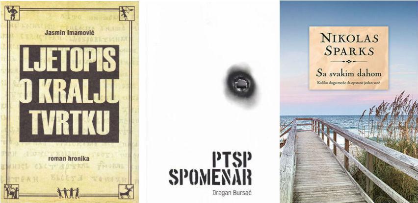 """Već treći mjesec zaredom knjiga Dragana Bursaća """"PTSP spomenar""""  najtraženija"""