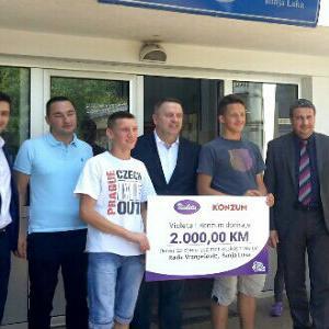 Novačana donacija uručena Domu Rada Vranješević u Banjoj Luci