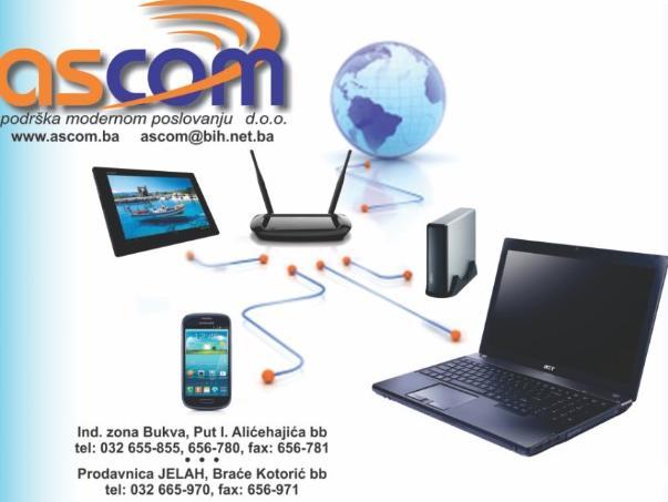 Ascom d.o.o. predstavlja poslovni softver E-line CLOUD
