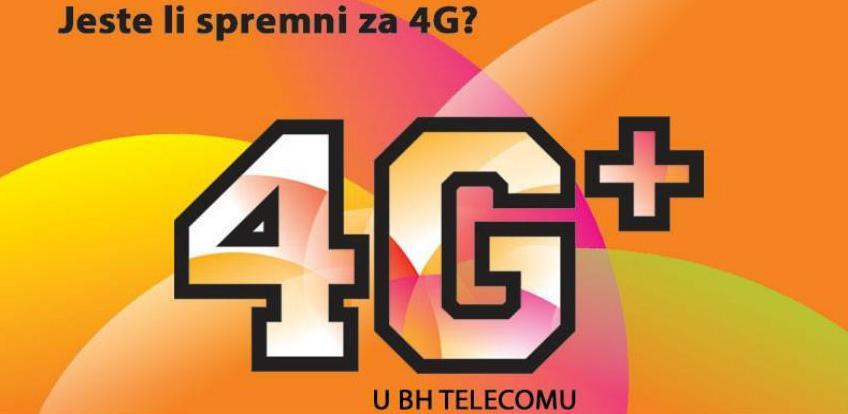 Dobro došli u svijet 4G+ mreže BH Telecoma!