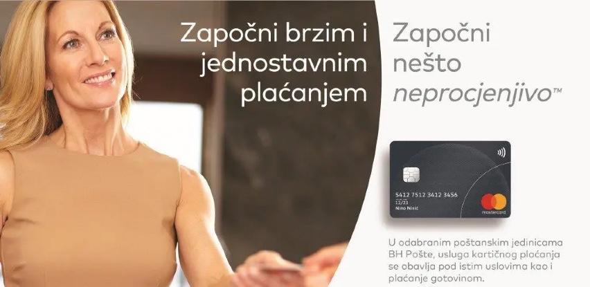 BH Pošta omogućila kartično plaćanje platnim karticama MasterCard i Visa