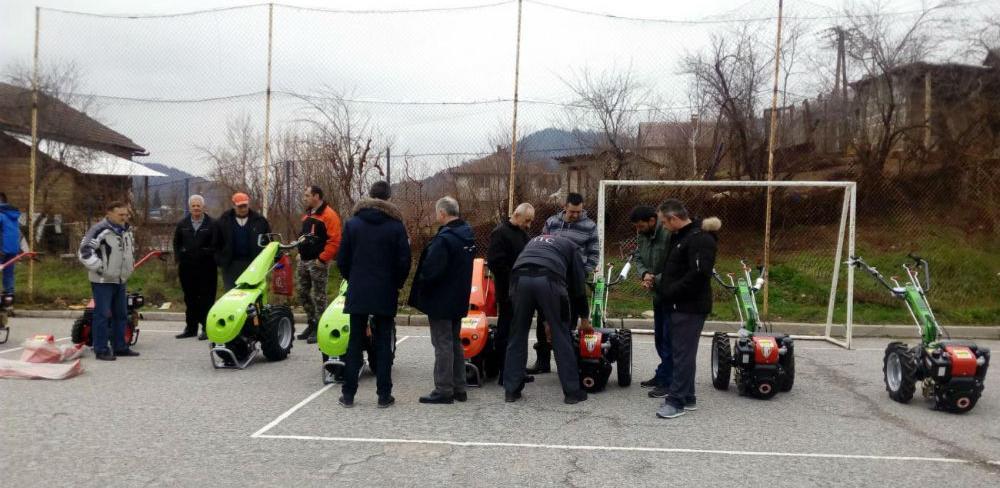 Podijeljeno 15 poljoprivrednih mašina u Višegradu