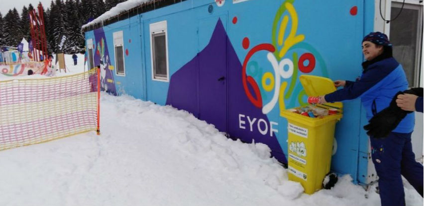 Ekopak na EYOF-u
