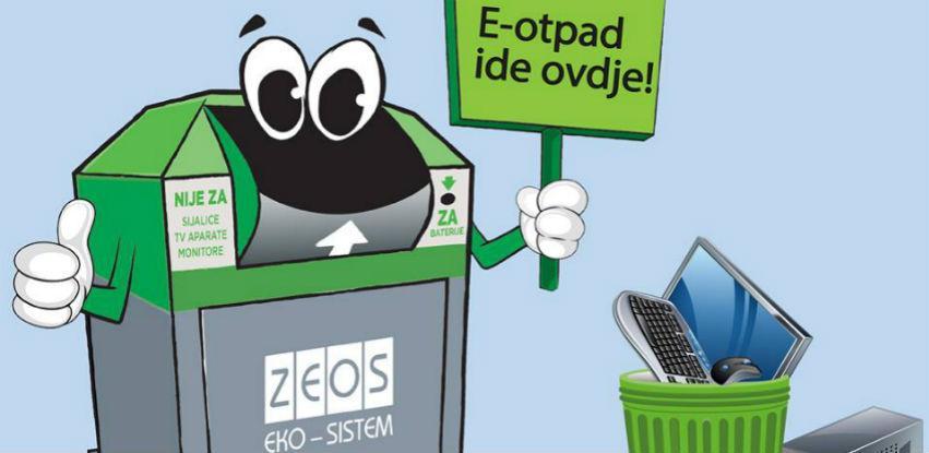 Nove lokacije kontejnera za elektronski otpad i stare aparate širom FBIH