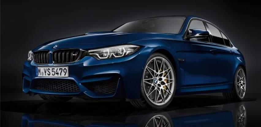 BMW M3 Limuzina vrhunski sportaš van trkaće staze
