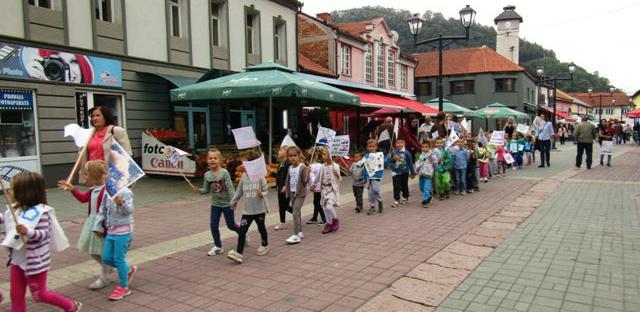 Europsku sedmicu mobilnosti u Gračanici obilježili i najmlađi