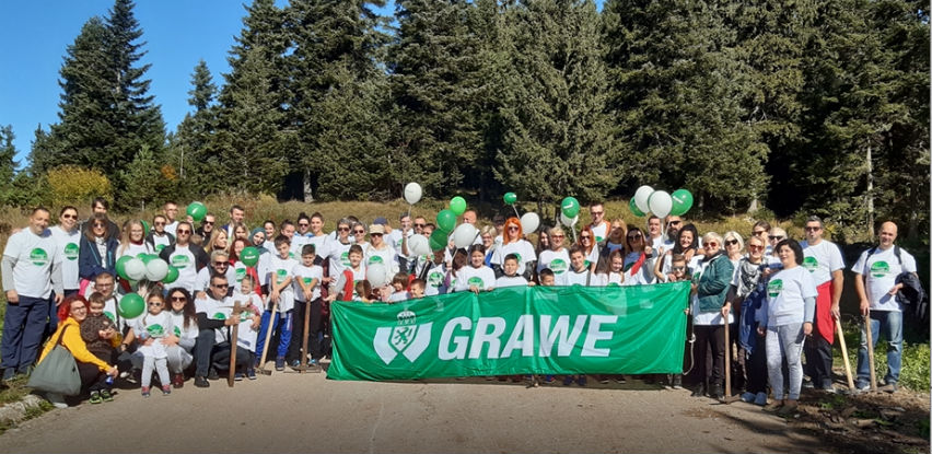 GRAWE ECO porodični dan - Dobrovoljna akcija volontiranja