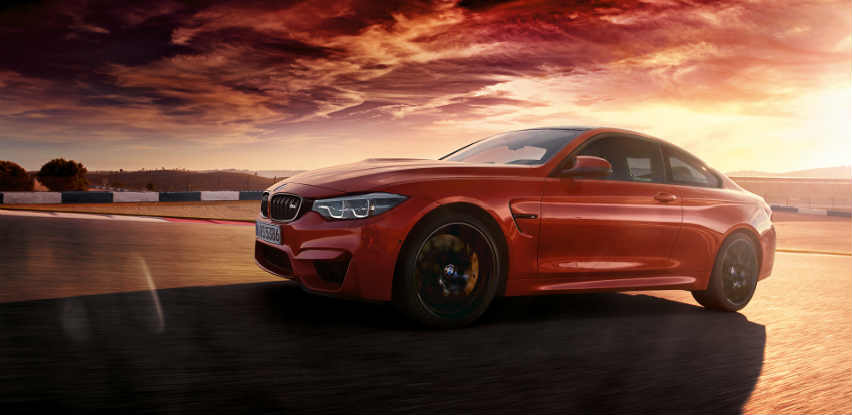 Adrenalin je zajamčen sa BMW-om M4 Coupé