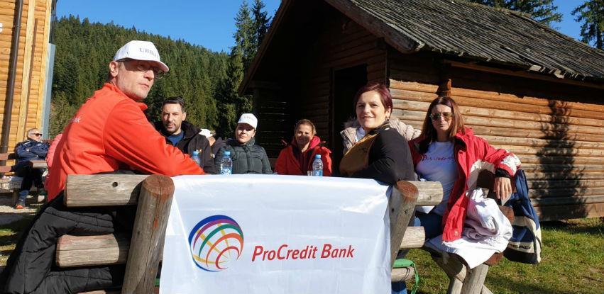 ProCredit Bank zasadila 200 sadnica na obroncima planine Igman